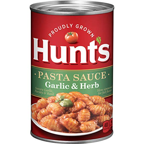 Hunt's Garlic & Herb Pasta Sauce, 24 Oz.