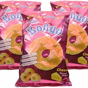 Jasons, Bongo Cheese Flavour Snack (Pack of 3), Imported from Fiji, 5.50 oz (each)