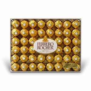 Ferrero Rocher Fine Hazelnut Chocolates, 21.1 Oz, 48 Count