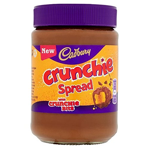 Original Cadbury Crunchie Chocolate Spread Imported From The UK England British Crunchie Chocolate Spread British Choclate Spread