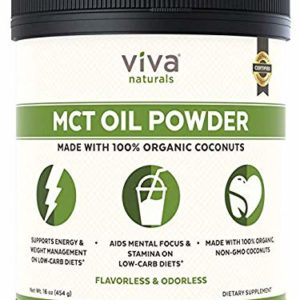 Viva Naturals MCT Oil Powder, 16 oz
