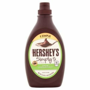 Hershey's Simple 5 Syrup Chocolate Flavor (Pack of 2)