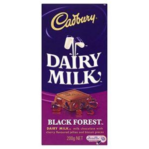Cadbury Dairy Milk Black Forest Chocolate Bar (220g) - Pack of 2