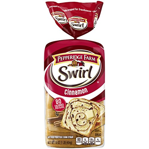 Pepperidge Farm Swirl Cinnamon Breakfast Bread, 16 Oz bag, Pack of 1