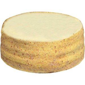 Sara Lee Round Lemon Cream Premium Butter Cream Layer Cake, 9 inch -- 4 per case.
