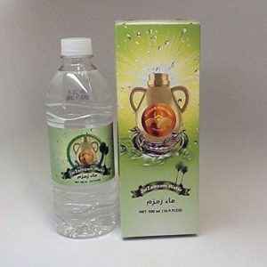 2-pack Zamzam Water From Makkah 500 Ml Guaranteed to be genuine Inshallah.