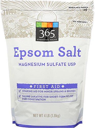 365 Everyday Value, Epsom Salt, 4 Pound