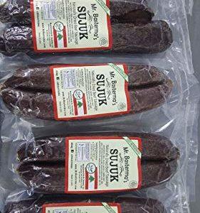 Mr. Basterma Halal natural dried Sujuk sujouk Dried Sausage 1lb or 16oz Soujouk soujuk sucuk