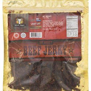 Halal Jerky - Hot Hickory 4-pack (3 Oz Bag)