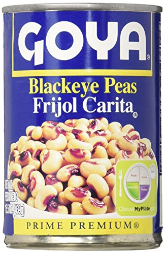 Goya Canned Black Eyed Peas, 15.5 Ounce