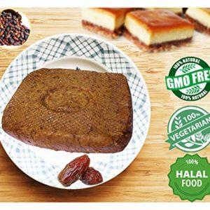 Organic Date Paste soft smooth Puree Mashed Halal Ajwa Ajwah Dates Pastry filling Oz middle eastern Sweets 400gm / 14Oz (1 Pack = 14oz = 400gm)