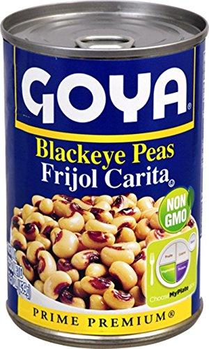 Goya Blackeye Peas, Premium, 15.5 oz