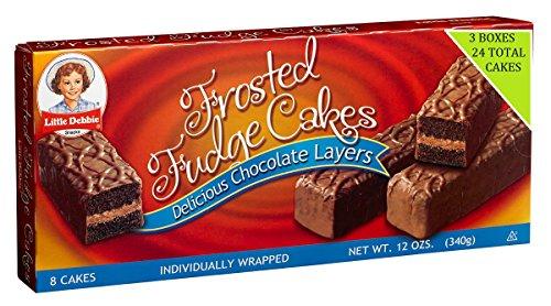 Little Debbie Frosted Fudge Cakes 12 oz, 8 Ct