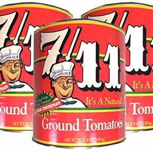 Stanislaus, 7/11 Ground Tomato Sauce (Pack of 3), 103 oz (each)