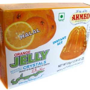 Ahmed Instant Set ORANGE Jelly Crystals (Halal) - 2.99oz