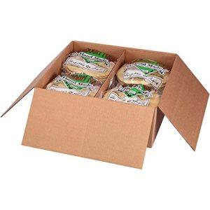 Kronos Frozen Flat Bread Original Halal Naan Pita, 8 inch Tandoori -- 96 per case.