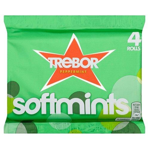 Trebor Peppermint Softmints , 12 Rolls