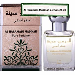 Madina Attar by Al-Haramain- 12 ml USA Seller-middle east Fragrance-