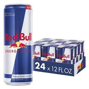 Red Bull Energy Drink, 24 Pack of 12 Fl Oz (6 Packs of 4)