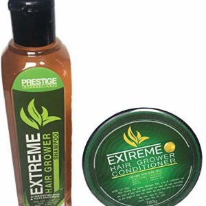 Prestige Extreme Hair Grower Shampoo & Conditioner Strengthening + Replenishing Infused with Stem Cell - 150ml/100g