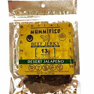 Mummified Halal Jerky (Desert Jalapeño, 5 x 1oz packs)
