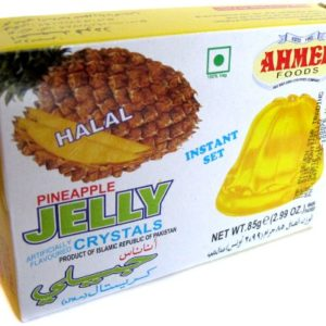 Ahmed Instant Set PINEAPPLE Jelly Crystals (Halal) - 2.99oz