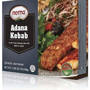 Nema Halal Adana Kabab Ready to cook 32 oz 12 pcs