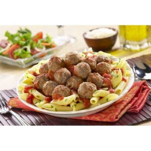 Rosina Food Halal Meatball, 5 Pound -- 2 per case.