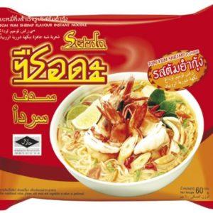 Halal Serda Instant Noodles Thai Tom Yum Shrimp Flavour - Pack of 5