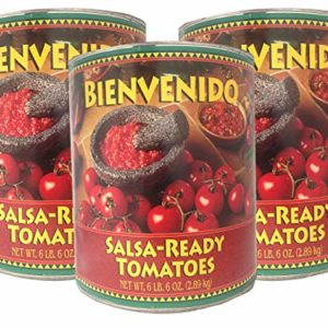 Bienvenido, Ultra-Premium Salsa-Ready Tomatoes, 102 oz (Pack of 3)
