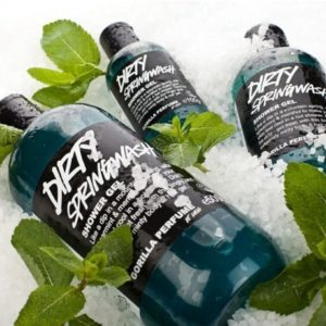 Dirty Springwash Shower Gel By Lush 8.8 Oz Made in Canada Ships From USA
