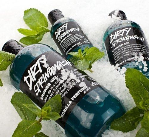 Dirty Springwash Shower Gel By Lush 8.8 Oz Made in Canada Ships From USA