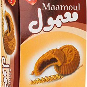 Halal Bisco Misr Maamoul Filled With Selected Dates With Butter 12 Pieces 384