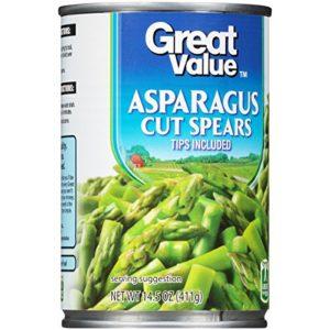 Great Value: Asparagus Cut Spears, 14.5 oz