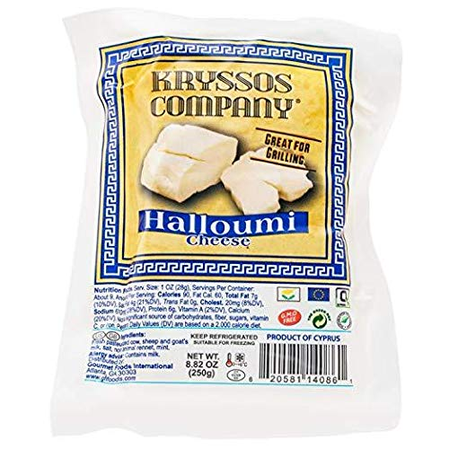 Kryssos Halloumi Cheese, 8.8 Oz (Pack of 5)