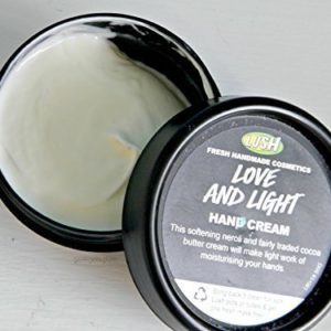 Love and Light Hand Cream By Lush, 100 Gr