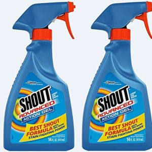 Shout Advanced Action Cleaning Gel 14 fl oz (Pack of 2)