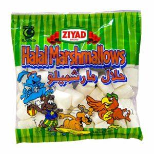 Ziyad Gourmet Halal Marshmallows, Egg-Free, Dairy-Free, Gluten-Free, 8.8 Oz