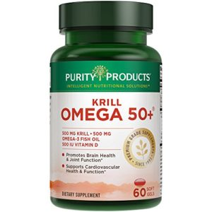 Krill Omega 50+ - 60 Softgels from Purity Products