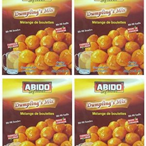 Abido Spices Dumplings Mix 1.1LBS/500g Powder Mix Premium Quality (Halal)- Pack of 4