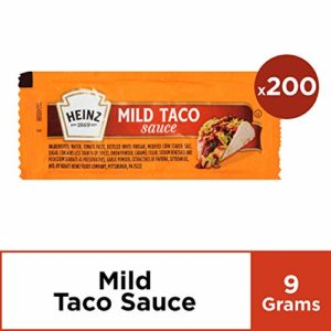 Heinz Mild Taco Sauce (0.31 oz Packets, Pack of 200)