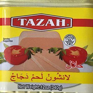 Tazah Halal Chicken Luncheon Meat 12 oz, 340g