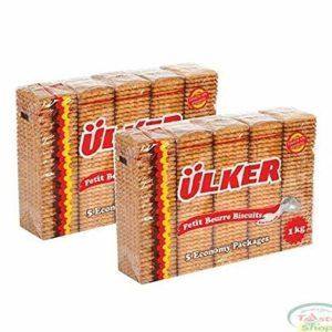 Ulker Tea Biscuit Halal 2 Lb/ 2Packs