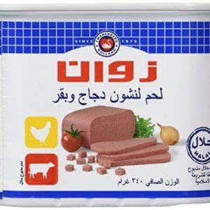 Zwan Luncheon Halal Meat, Chicken/Beef, 12 Ounce by Zwan
