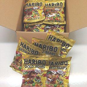 Haribo Gummi Candy, Gold Bears, 160g x 30, Halal, 30 Packs, Altin Ayicik