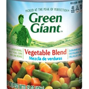 Green Giant Mixed Vegetable Blend, 15 Ounce (Pack of 12)