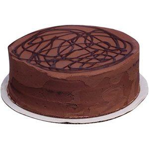Sara Lee Round Chocolate Premium Butter Cream Layer Cake, 54 Ounce -- 4 per case.