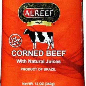 Alreef Halal Corned Beef with Natural Juices (Pack of 2)