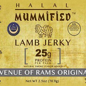 Halal Lamb Jerky - Avenue of Rams Original 2.5 oz (Pack of 2)