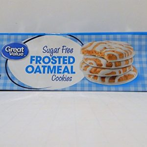 Great Value Sugar Free Frosted Oatmeal Cookies, 11.25 oz